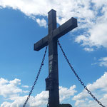 Gipfelkreuz des Almkogels
