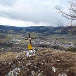 Gipfel der Bräumauer (leider bei schlechterem Wetter)