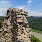 Ausblick vom Turm der Ruine Haichenbach