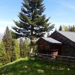 Hütte auf der Dürntalalm