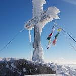 Gipfelkreuz des Tschechischen Plöckensteins