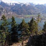 Blick vom großen Sonnstein Richtung Ebensee
