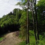 Blick auf den kleinen Landsberg