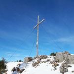 Gipfelkreuz des Zwillingskogels