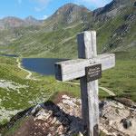 Kleiner Gipfel des Preuneggsattels