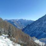 Ausblick auf Ostrawitz und hin zur Warscheneckgruppe des Toten Gebirges