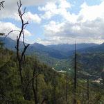 Blick über das Weißenbachtal