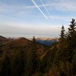 Blick vom Gipfel über Gasteiner- und Großarltal