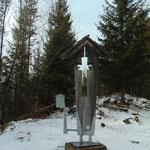 Hüttenkreuz der Anton-Schosser Hütte
