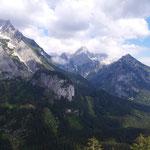 Und noch einmal das Panorama am Gipfel