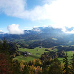 Panorama am Gipfel (Herbst)