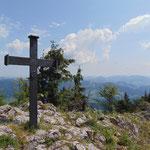 Gipfelkreuz des Schiefersteines