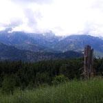 Erste wunderschöne Blicke ins Tal und hin zum Toten Gebirge