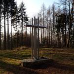 Pilgerkreuz am Kürnberggipfel