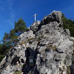Gipfel des Spitzmäuerls