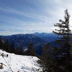Und natürlich der Blick ins Tote Gebirge mit dem Großen Priel