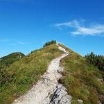 Wunderschön angelegter Weg zum Kitzstein