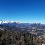 Das Tote Gebirge, rechts ist der Tamberg zu erkennen