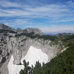 Blick am Gipfel des Rinnerkogels