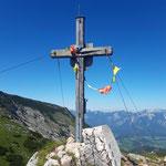 Gipfelkreuz der Roten Wand