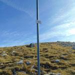 Gipfel des Schafkögerls - kleiner Gipfel direkt vor dem Einstieg