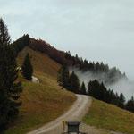 Retour Richtung Arnika Hütte und Zwölferhorn