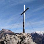 Gipfelkreuz des Großen Sonnsteins