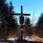Gipfelkreuz des Ödberges