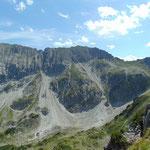 Blick auf die Steinfeldspitze