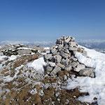 Am Gipfel des Niederen Speikberges