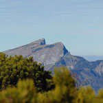 Blick auf den Schafberg vom Hainzen Gipfel aus