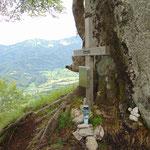 Gipfelkreuz des Kienberges
