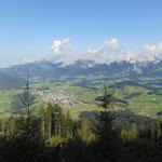 Blick über Abtenau