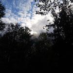 Gipfel des Traunstein zwischen den Wolken