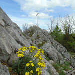Und gleich noch ein Foto vom Gipfelkreuz