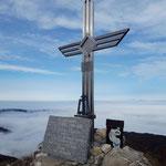 Gipfelkreuz des Gaisberges