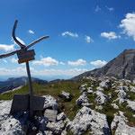 Gipfelkreuz des Toten Mannes