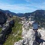 Der Gipfel des Kleinen Schobersteins ist erreicht