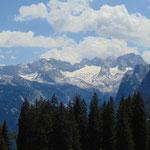 Und noch einmal der Blick auf den Dachstein Gletscher