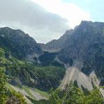 Abstieg durch das Goslitztal
