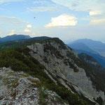 Blick vom Gipfel Richtung Lienzer Reidling
