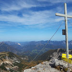 Gipfelkreuz des Schrockens