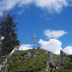 Gipfelkreuz des Großen Raschberges