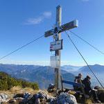 Gipfelkreuz des Hainzen