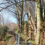 Wegverlauf am Kalvarienberg