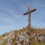 Gipfelkreuz des Bärenfeuchtmölbings