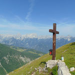 Gipfelkreuz der Wilden