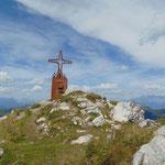 Am Schwarzkopf Gipfel angekommen