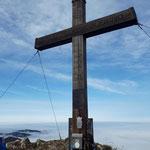 Gipfelkreuz des Dürren Ecks