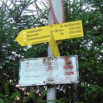 Wir halten uns Richtung Schaffereith, Bärenalm, Türkenkarscharte und Hochmölbinghütte